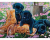 Cobble Hill Puzzles Cobble Hill 85017 Trouble in the Garden 500 piece Jigsaw Puzzle