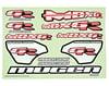 Mugen Seiki MBX6R Decal Sheet