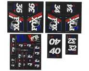 Fox Suspension Heritage Decal Kit for Forks & Shocks (Red/White/Blue) | product-also-purchased