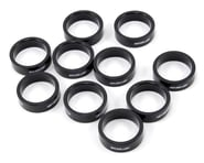 """FSA PolyCarbonate Headset Spacers (Black) (1-1/8"""") (10)   product-also-purchased"""