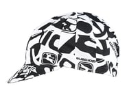 Giordana Camo Cotton Cycling Cap (White/Black) (One Size Fits Most) | product-related