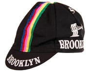 Giordana Brooklyn Cap w/ Stripes (Black) (One Size Fits Most)   product-related