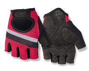 Giro SIV Retro Short Finger Bike Gloves (Red/White Stripe)   product-related
