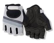 Giro SIV Retro Short Finger Bike Gloves (White/Grey Stripe)   product-related