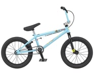 """GT 2021 Lil Performer 16"""" BMX Bike (16.5"""" Toptube) (Aqua Blue) 