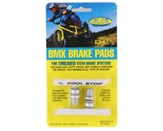 Kool Stop BMX Brake Pads (Threaded) (White) (Pair) | product-related