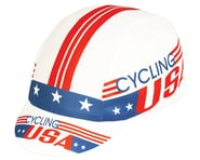 Pace Sportswear Coolmax Cycling USA Cap (Red/White/Blue) (One Size Fits Most) | product-related