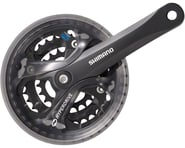 Shimano Acera FC-M361 Crankset (Black) (3 x 7/8 Speed) (Square Taper) | product-related