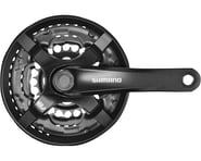 Shimano Tourney FC-TY501 Crankset (Black) (3 x 6/7/8 Speed) (Square Taper)   product-related