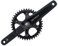 Shimano GRX FC-RX810 Crankset (Black) (1 x 11 Speed) (Hollowtech II) | product-related