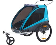 Thule Coaster XT (Blue) (Trailer & Stroller) | product-related