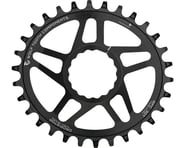 Wolf Tooth Components PowerTrac Drop-Stop Oval Chainring (Black) (Cinch) | product-related