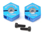 Exotek 12mm B6 HD Aluminum Hex (Blue) (2) | product-also-purchased