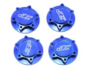 JConcepts Fin 17mm 1/8th Serrated Light Weight Wheel Nut (Blue) (4) | product-also-purchased