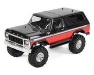 Traxxas TRX-4 1/10 Trail Crawler Truck w/'79 Bronco Ranger XLT Body (Red)   product-also-purchased