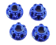 Yeah Racing 4mm Aluminum Serrated Wheel Lock Nut (4) (Dark Blue)   product-also-purchased