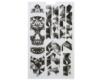 All Mountain Style Honeycomb Frame Guard XL (Grey) (Skull)