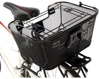 Axiom Pet Basket with Rack and Handlebar Mounts (Black)