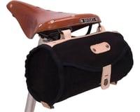 Banjo Brothers Minnehaha Canvas Barrel Saddle Bag (Black)