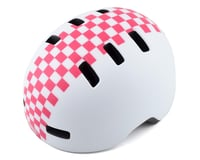 Bell Lil Ripper Helmet (White/Pink Checkers)