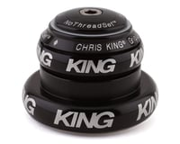"""Chris King NoThreadSet Tapered Headset (Black) (1-1/8"""" to 1-1/2"""")"""
