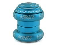 "Chris King NoThreadSet Headset (Matte Turquoise) (1-1/8"")"