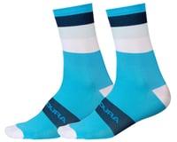 Endura Bandwidth Sock (Hi-Viz Blue)