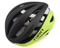 Giro Aether Spherical Road Helmet (Matte Black Fade/Highlight Yellow)