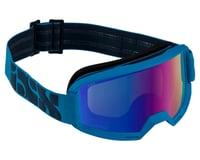 iXS Hack Goggle (Racing Blue) (Blue Mirror Lens)