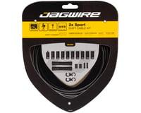 Jagwire 2x Sport Shift Cable Kit SRAM/Shimano (Black)