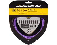 Jagwire 2x Sport Shift Cable Kit SRAM/Shimano (Purple)