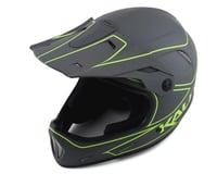 Kali Alpine Rage Full Face Helmet (Matte Grey/Fluorescent Yellow)