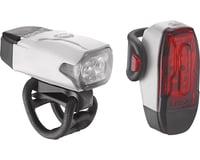 Lezyne KTV Drive Headlight & Tail Light Set (White)