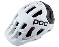 POC Tectal Race SPIN Helmet (Hydrogen White/Uranium Black)