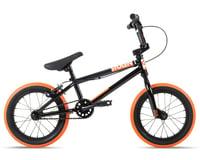 """Stolen 2021 Agent 14"""" BMX Bike (14.6"""" Toptube) (Black/Dark Neon Orange)"""