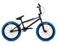 """Stolen 2021 Agent 18"""" BMX Bike (18"""" Toptube) (Black/Dark Blue)"""