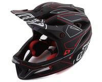 Troy Lee Designs Stage MIPS Helmet (Pinstripe Black/Red)