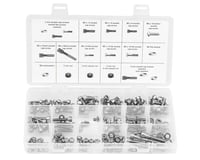 Wheels Manufacturing 4,5,6mm Fastener Kit - 218 Pieces of Stainless Steel Bolts,