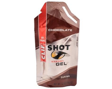 Clif Bar Shot Energy Gel (Chocolate) (24 1.2oz Packets)