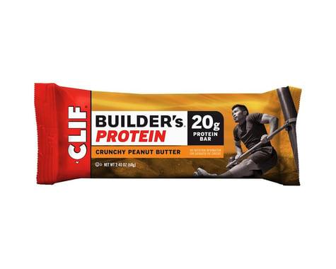 Clif Bar Builder's Bar (Crunchy Peanut Butter) (12) (12 2.4oz Packets)
