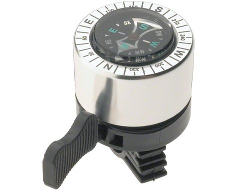 Dimension Compass Bell (Silver/Black)