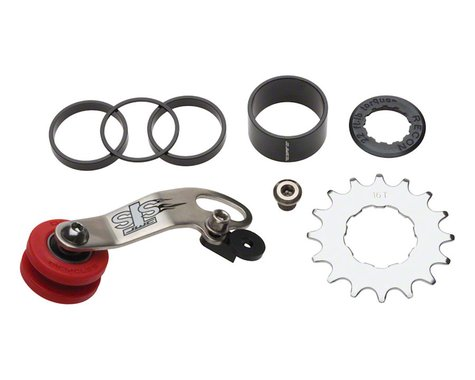 DMR STS Chain Tensioner and Cassette Spacer Combo Kit (Silver) (16T)