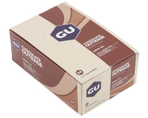 GU Energy Gel (Chocolate Outrage) (24 1.1oz Packets)