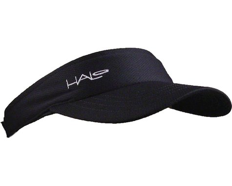 Halo Headband Sport Visor (Black) (One Size)