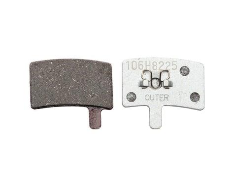 Hayes Stroker Trail/Carbon Sintered Disc Brake Pads Aluminum Back Plate