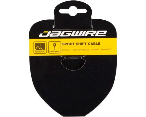 Jagwire Sport Slick Derailleur Cable (Stainless) (1.1x3100mm) (1)