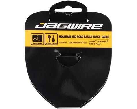 Jagwire Basics Tandem Brake Cable (Galvanized) (1.6 x 2795mm) (1)