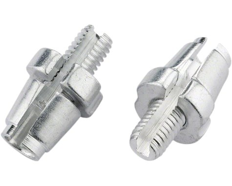 Jagwire M7 Slotted Alloy Adjusting Barrel (Silver) (Bag/10)