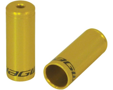 Jagwire End Cap Hop-Up Kit 4mm Shift and 5mm Brake (Gold)