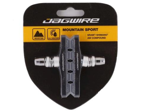 Jagwire Mountain Sport V-Brake Pads (Grey) (Pair)